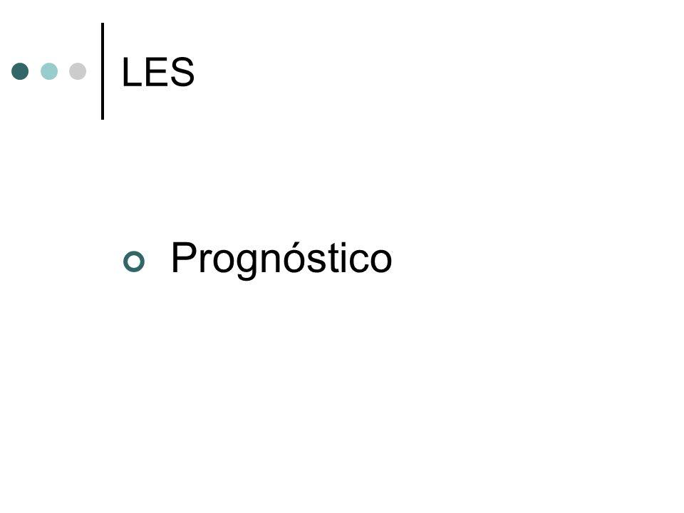 LES Prognóstico