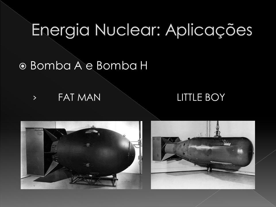 Bomba A e Bomba H FAT MAN LITTLE BOY