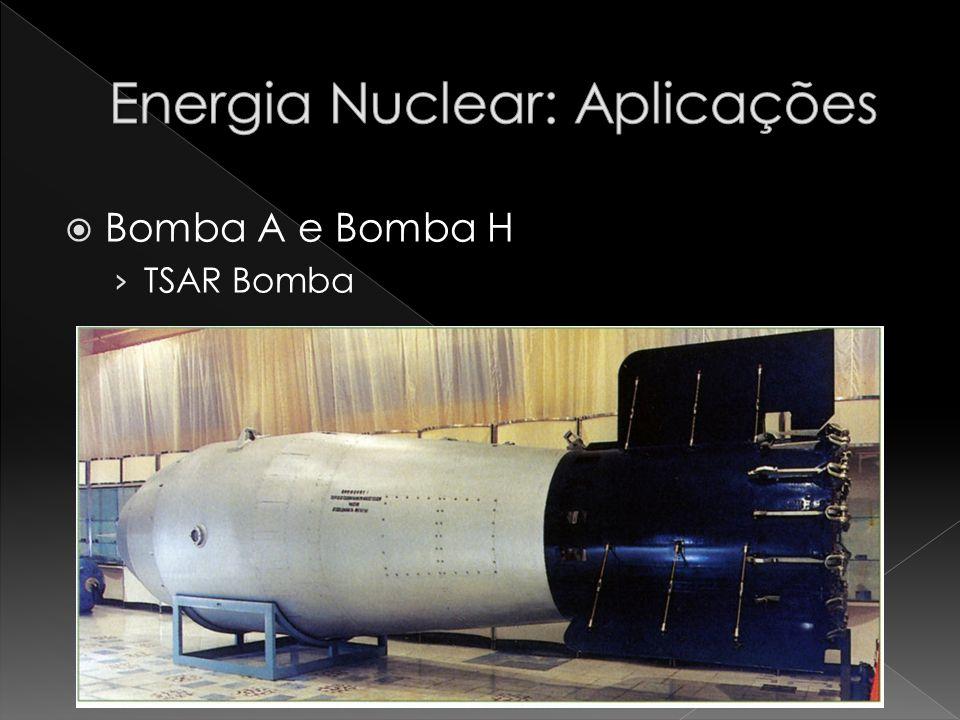 Bomba A e Bomba H TSAR Bomba