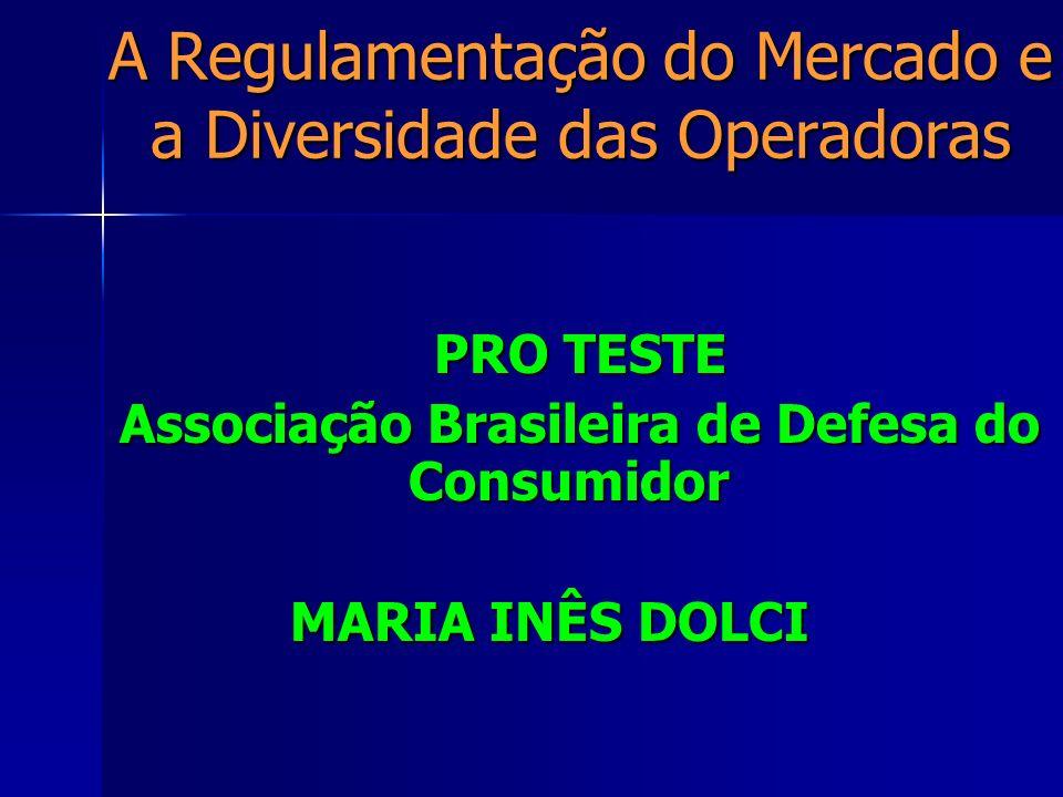 A Regulamentação do… Seguro-saúde foge do consumidor Nice de Paula = Jornal do Brasil RIO - As empresas de saúde privada estão desistindo de atender os consumidores individuais.