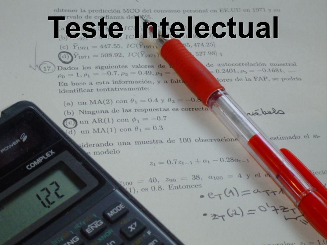Teste Intelectual