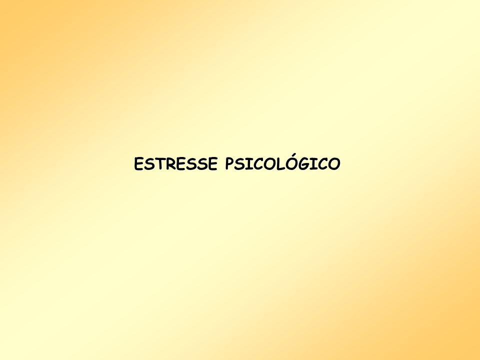 ESTRESSE PSICOLÓGICO