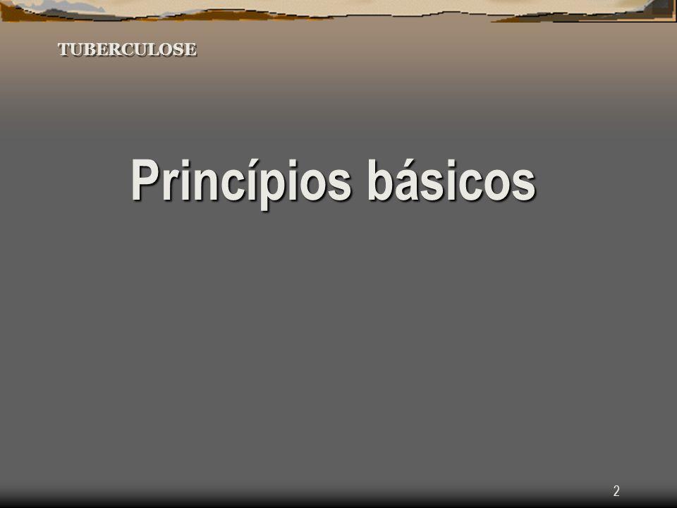 2 TUBERCULOSE Princípios básicos