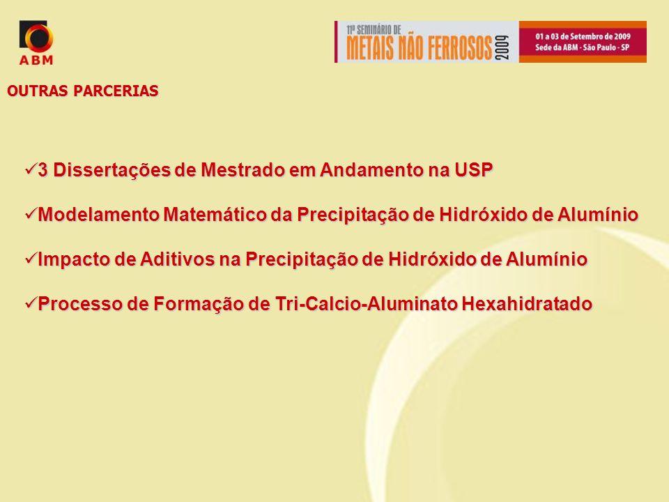 OUTRAS PARCERIAS 3 Dissertações de Mestrado em Andamento na USP 3 Dissertações de Mestrado em Andamento na USP Modelamento Matemático da Precipitação