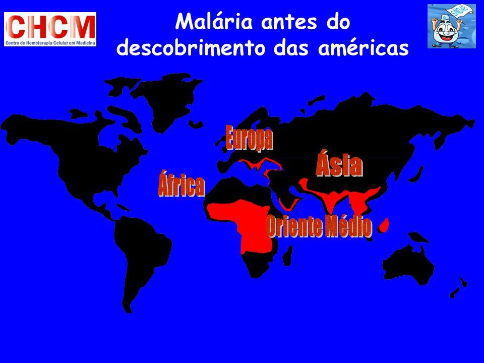 Malária antes do descobrimento das américas