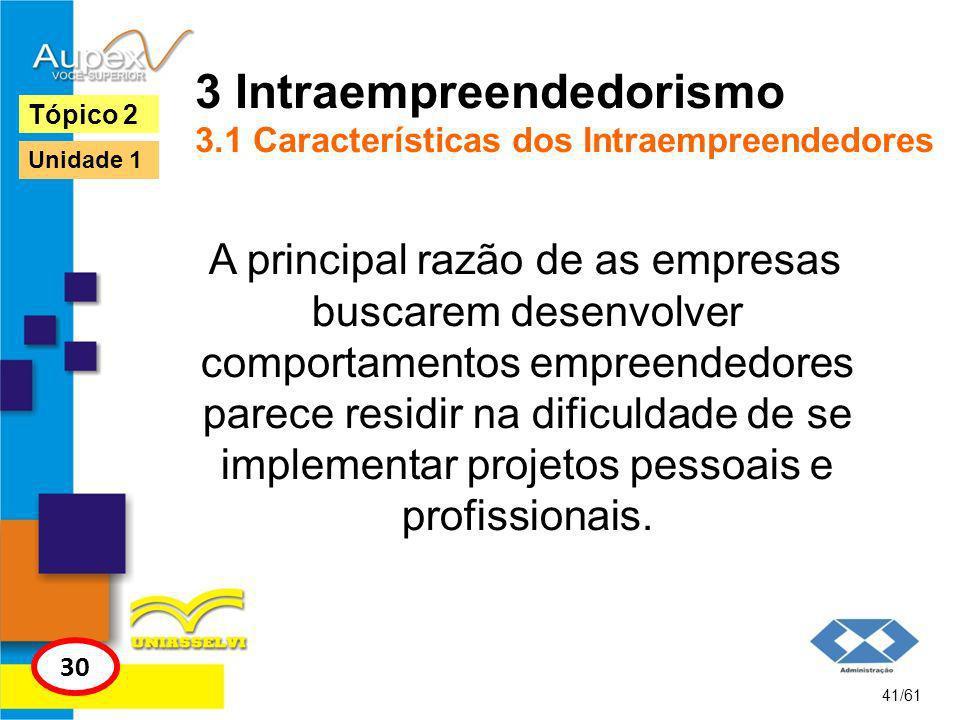 3 Intraempreendedorismo 3.1 Características dos Intraempreendedores Algumas competências do intraempreendedor, segundo Lanny Herron (1993 apud HASHIMOTO 2006) podem ser visualizadas na tabela da página 31.