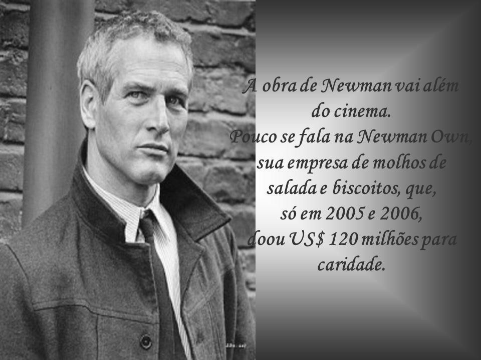 Paul Newman é provavelmente um dos rostos mais conhecidos do cinema.