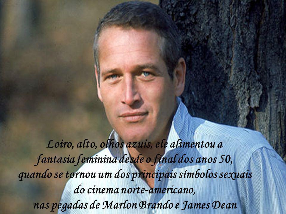 Loiro, alto, olhos azuis, ele alimentou a fantasia feminina desde o final dos anos 50, quando se tornou um dos principais símbolos sexuais do cinema norte-americano, nas pegadas de Marlon Brando e James Dean
