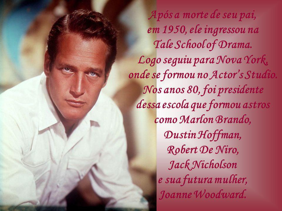 Após a morte de seu pai, em 1950, ele ingressou na Tale School of Drama.
