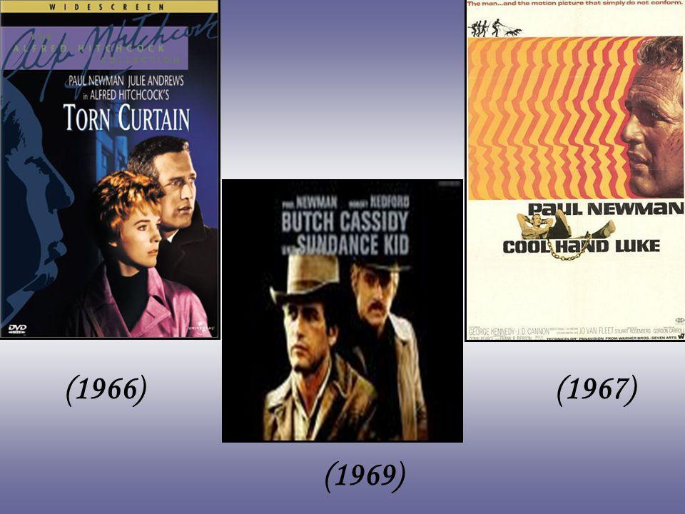 O único Oscar de sua vida só viria em 1986, por A Cor do Dinheiro, filme sobre jogadores, dirigido por Martin Scorsese, em que Newman contracenou com Tom Cruise.