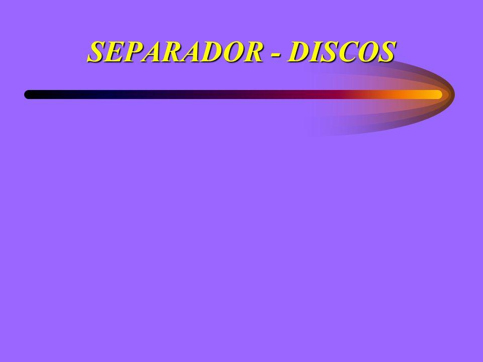 SEPARADOR - DISCOS