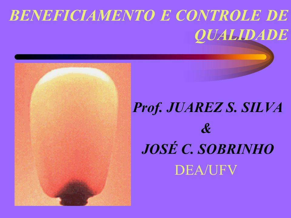 BENEFICIAMENTO E CONTROLE DE QUALIDADE Prof. JUAREZ S. SILVA & JOSÉ C. SOBRINHO DEA/UFV