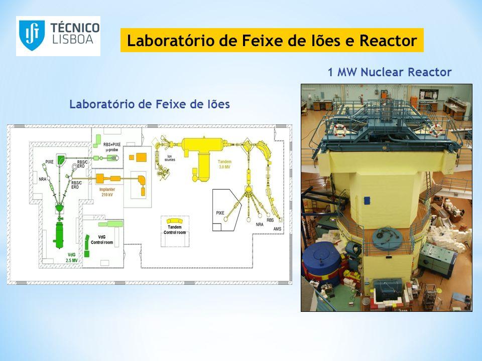 Laboratório de Feixe de Iões e Reactor 1 MW Nuclear Reactor Laboratório de Feixe de Iões
