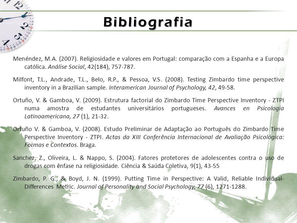 Bibliografia Menéndez, M.A.(2007).