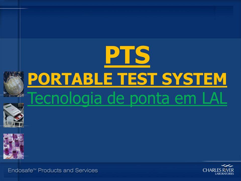 PTS PORTABLE TEST SYSTEM Tecnologia de ponta em LAL 2