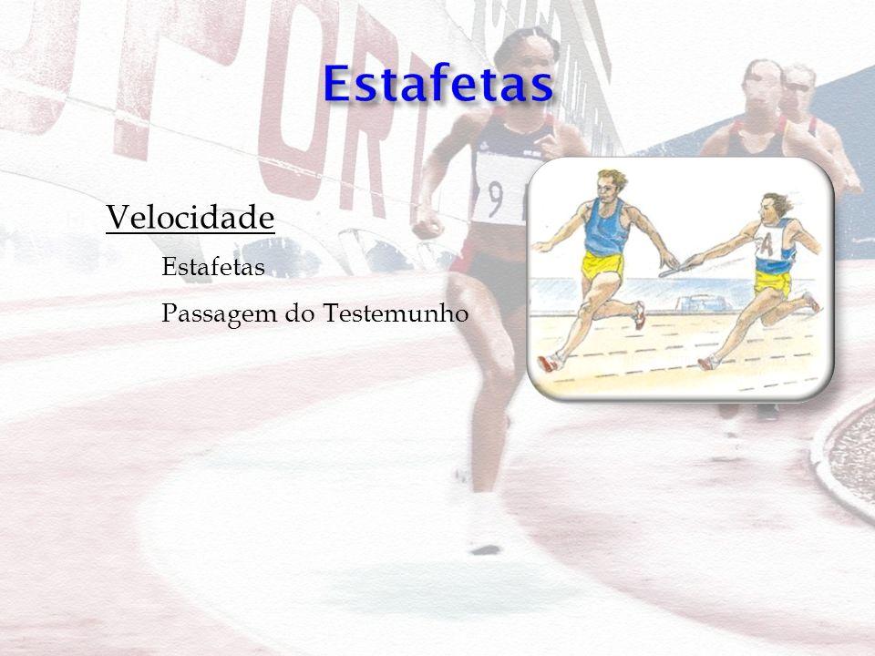 Velocidade Estafetas Passagem do Testemunho