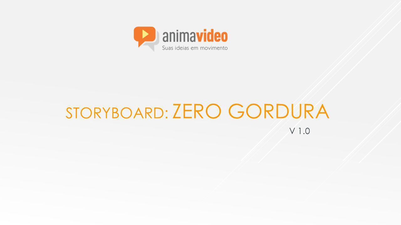 STORYBOARD: ZERO GORDURA LOC: Com ele você descobrirá... (leitura do quadro) #12