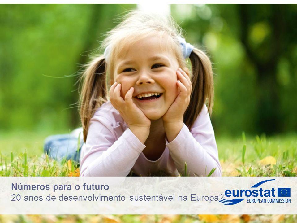 Números para o futuro 20 anos de desenvolvimento sustentável na Europa?