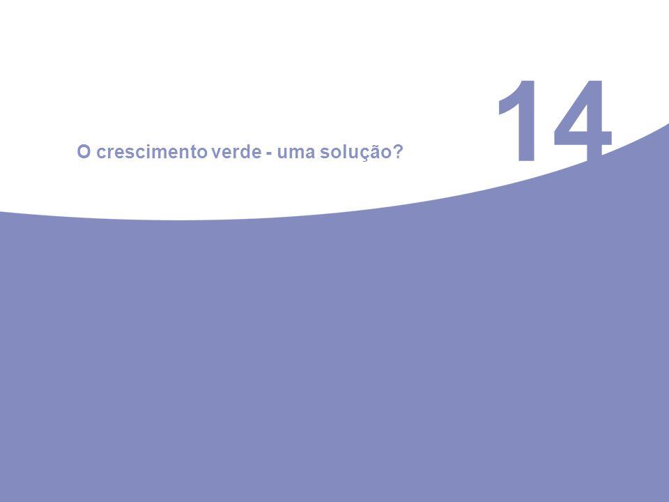 14 O crescimento verde - uma solução?