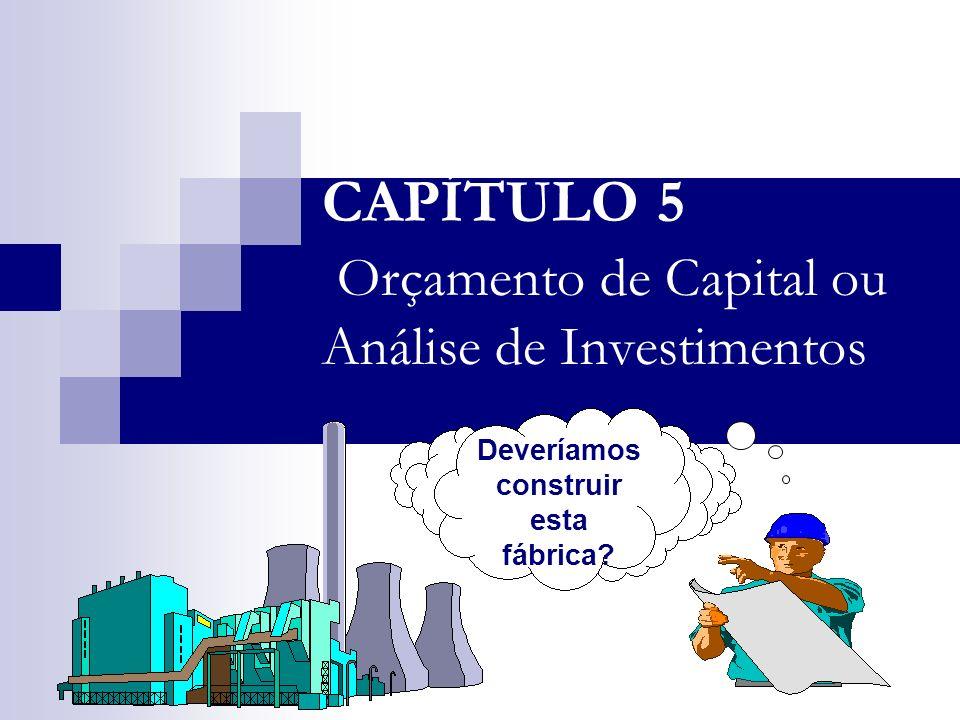 5.2 IMES-FAFICA Bertolo MÉTODO DA TAXA INTERNA DE RETORNO - TIR A avaliação da rentabilidade de uma proposta de investimento é feita pela taxa de juros que torna equivalente o investimento inicial ao fluxo de caixa subseqüente.