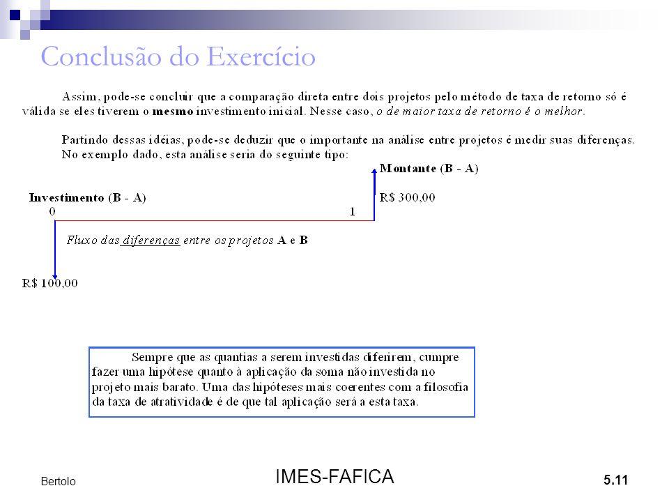 5.11 IMES-FAFICA Bertolo Conclusão do Exercício