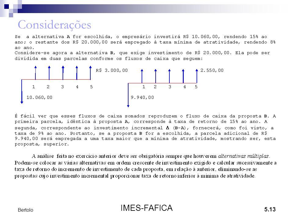 5.13 IMES-FAFICA Bertolo Considerações
