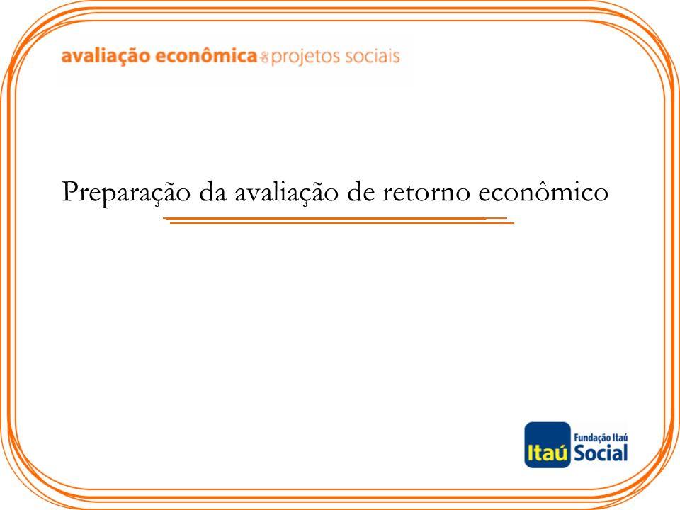Preparação da avaliação de retorno econômico