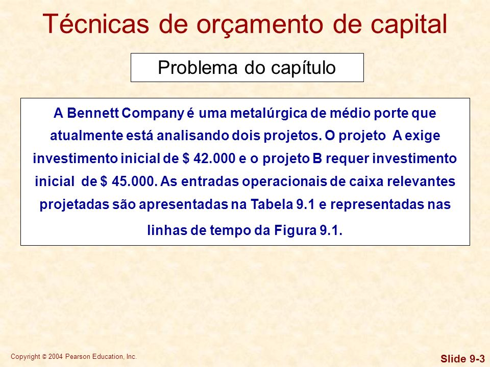 Copyright © 2004 Pearson Education, Inc.Slide 9-24 Que enfoque é melhor.