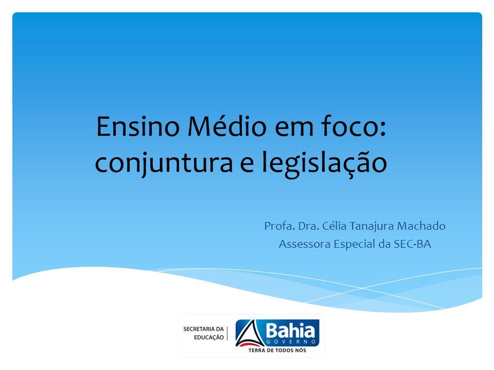 Ensino Médio em foco: conjuntura e legislação Profa.
