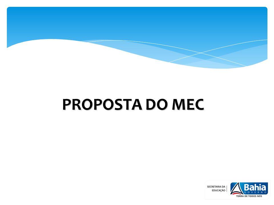 PROPOSTA DO MEC