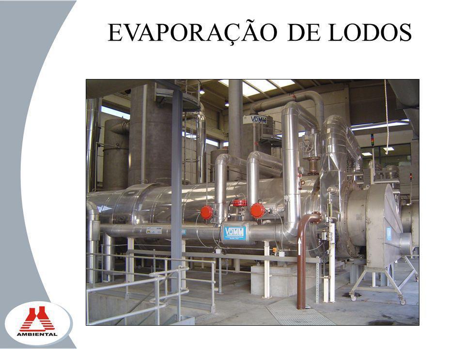 EVAPORAÇÃO DE LODOS