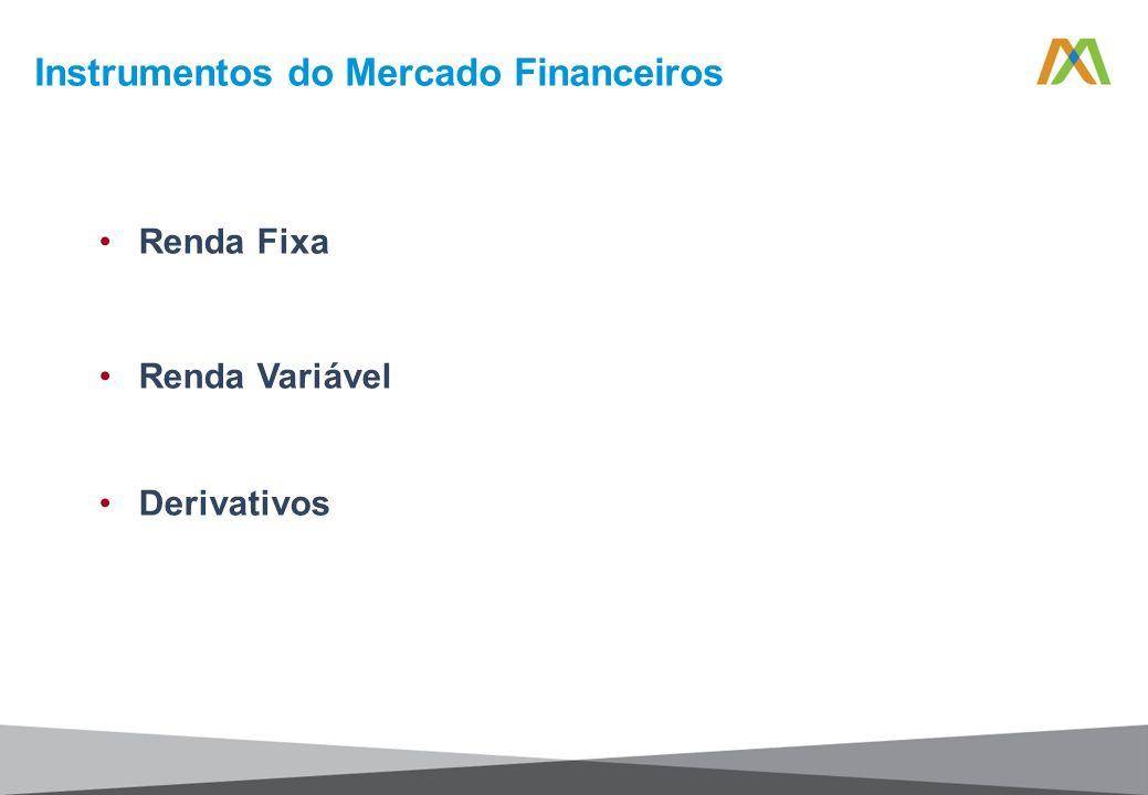 Renda Fixa Renda Variável Derivativos Instrumentos do Mercado Financeiros
