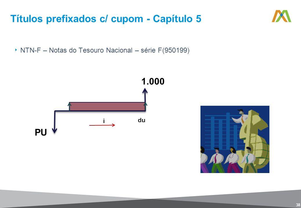 Títulos prefixados c/ cupom - Capítulo 5 38 NTN-F – Notas do Tesouro Nacional – série F(950199)
