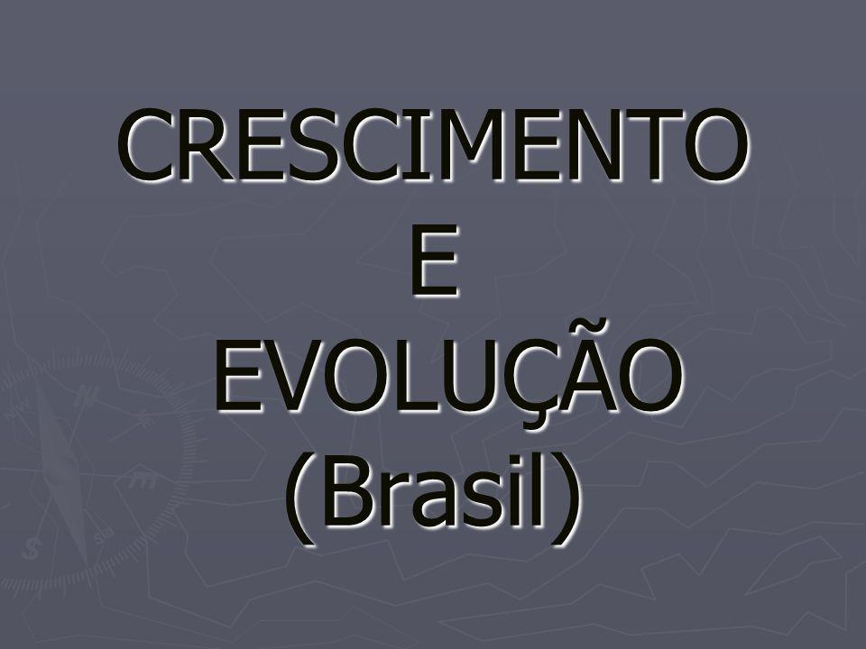 CRESCIMENTO E EVOLUÇÃO (Brasil)