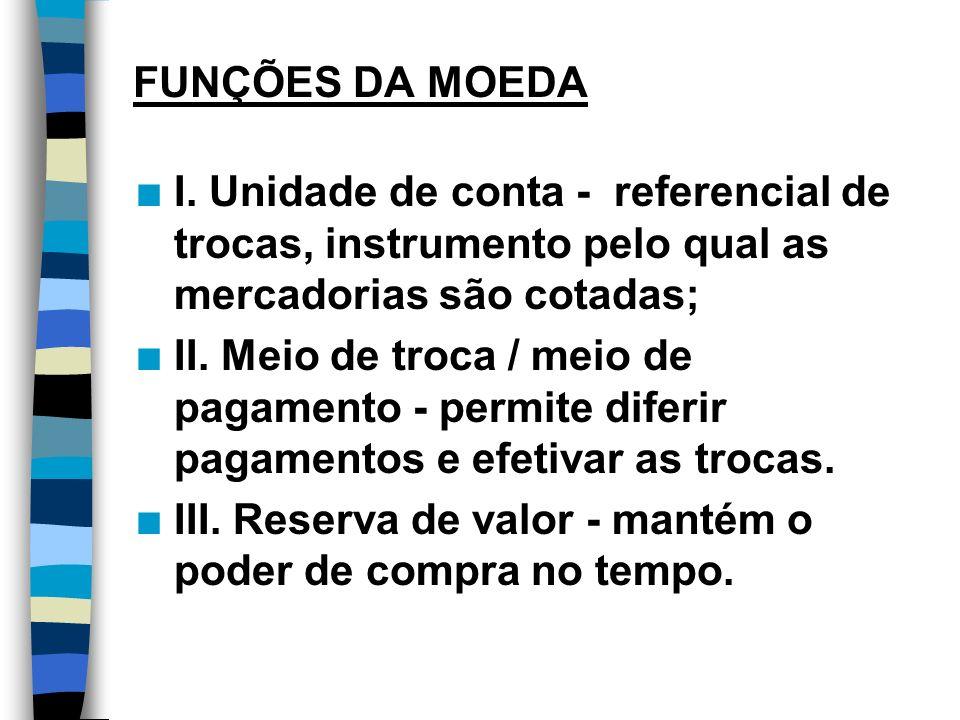POLÍTICA MONETÁRIA n Afeta o produto de forma indireta, através de intervenções sobre o mercado financeiro e sobre a taxa de juros.