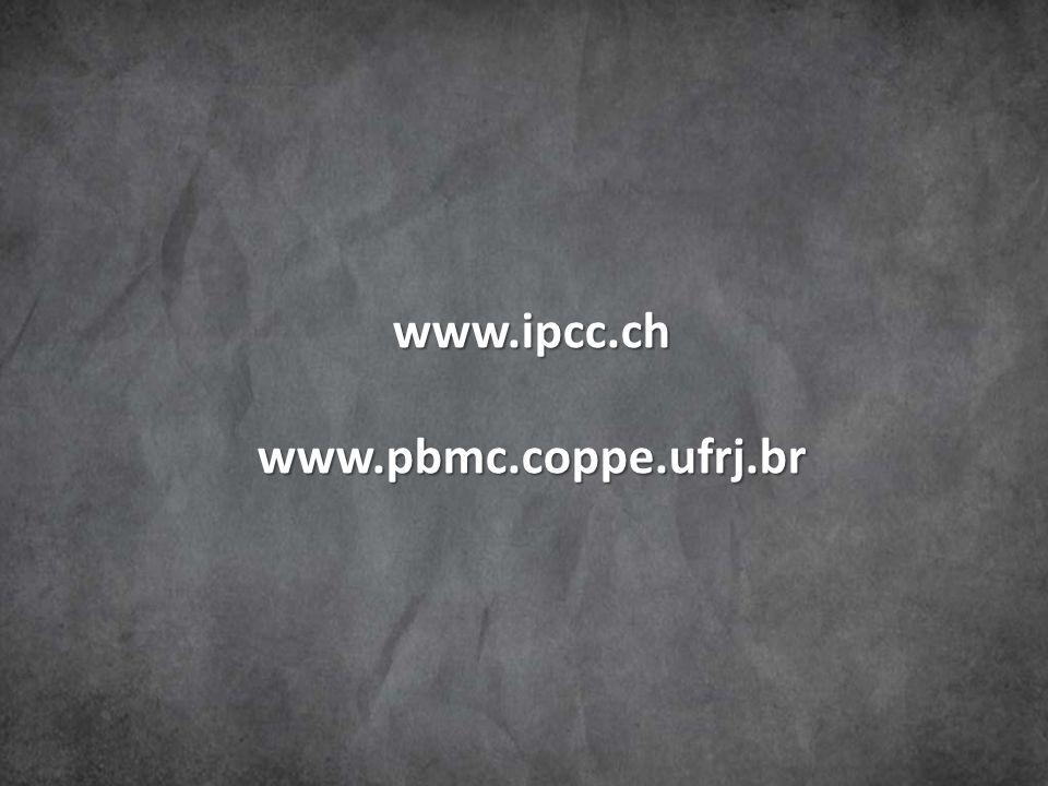 www.ipcc.ch www.pbmc.coppe.ufrj.br
