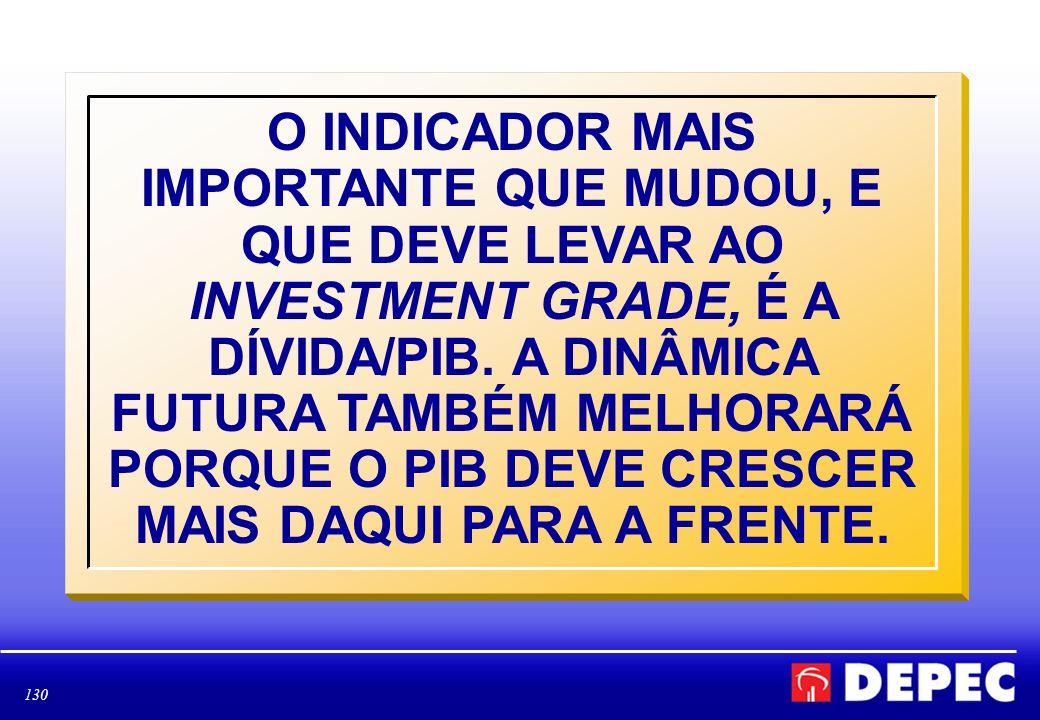 131 LULA ENTREGARÁ A RELAÇÃO DÍVIDA/PIB EM 2010 NO MENOR PATAMAR DESDE 1998, ANTES, PORTANTO, DA CRISE CAMBIAL DE 1999.