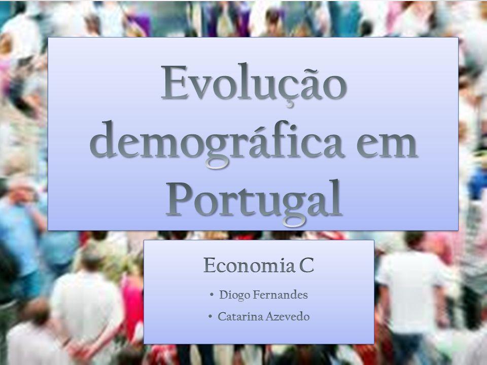 Distribuição da população por grupos etários em 2011 65 anos ou mais - 18% 15 anos ou menos - 15% Há 40 décadas, a população portuguesa tinha mais jovens que idosos.