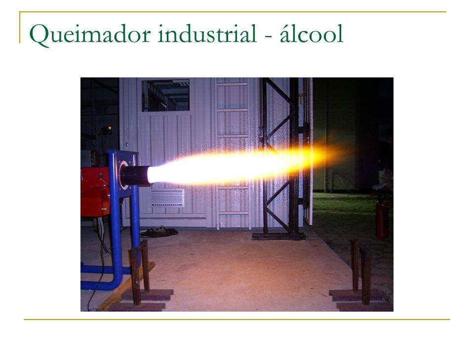 Queimador industrial - álcool