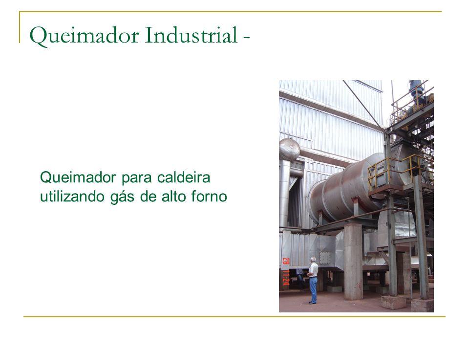 Queimador Industrial - Queimador para caldeira utilizando gás de alto forno