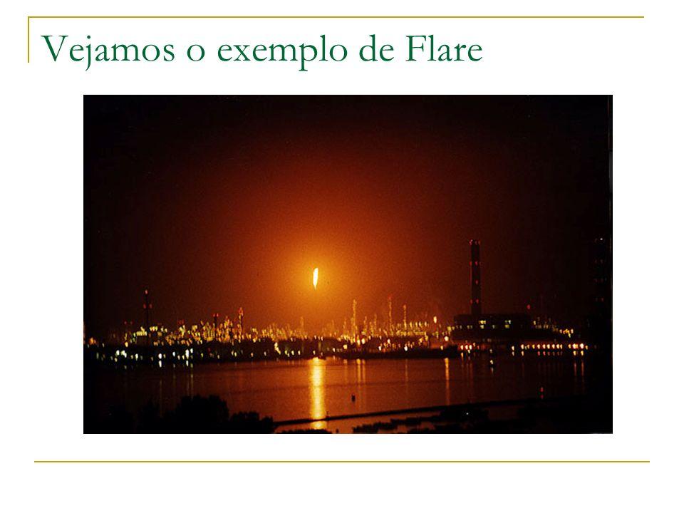 Vejamos o exemplo de Flare