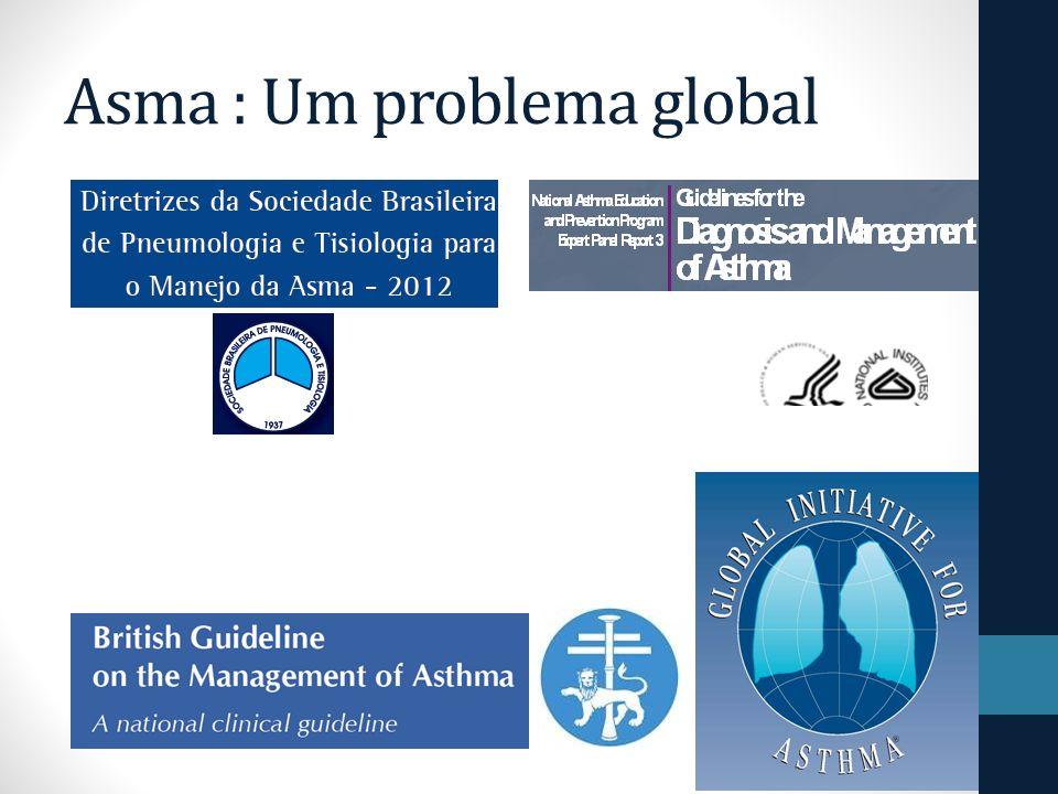 Definição A asma é um distúrbio inflamatório crônico das vias aéreas.