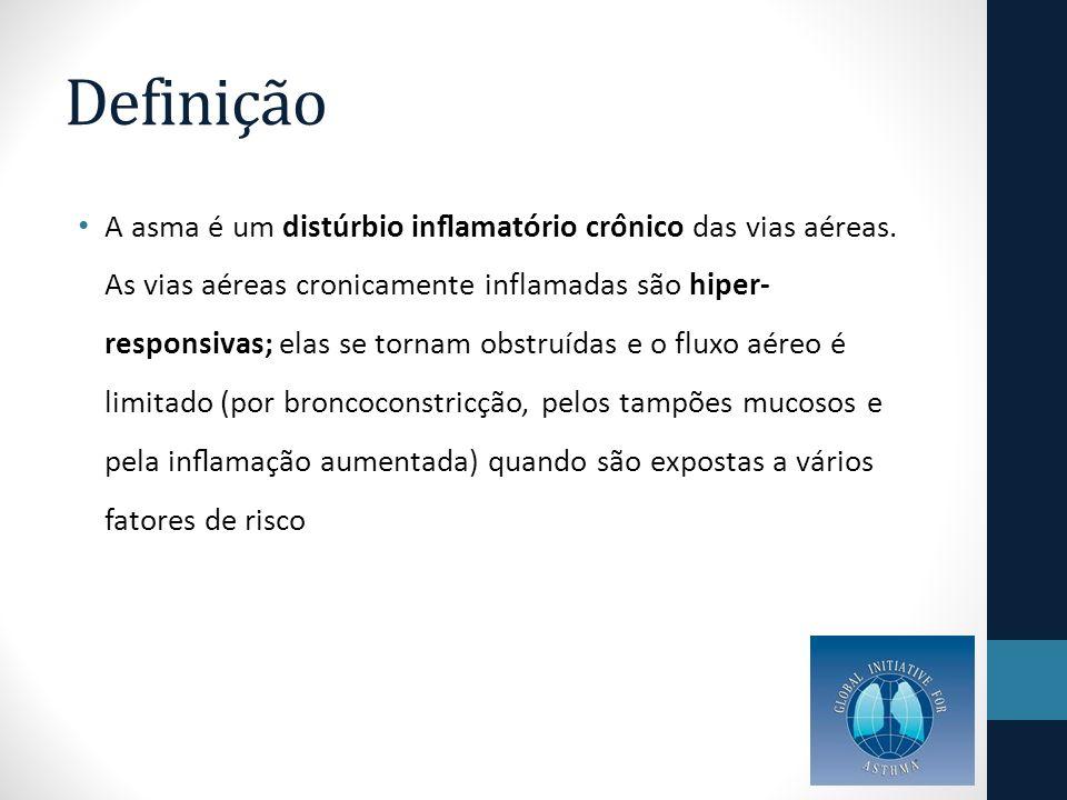 Impacto Aproximadamente 20 milhões de asmáticos no Brasil As taxas de hospitalização por asma em maiores de 20 anos diminuiram em 49% entre 2000 e 2010 Já em 2011 foram registradas pelo DATASUS 160 mil hospitalizações em todas as idades, dado que colocou a asma como a quarta causa de internações A taxa média de mortalidade no país, entre 1998 e 2007, foi de 1,52/100.000 habitantes (variação, 0,85-1,72/100.000 habitantes), com estabilidade na tendência temporal desse período