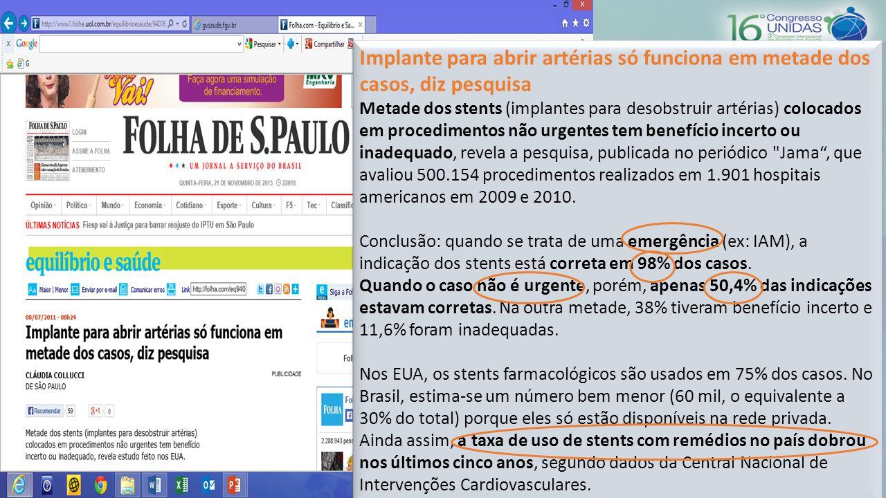 48% dos médicos paulistas que recebem visitas de propagandistas de laboratórios prescreve medicamentos sugeridos pelos fabricantes.