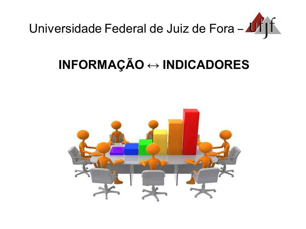 Universidade Federal de Juiz de Fora – INFORMAÇÃO INDICADORES
