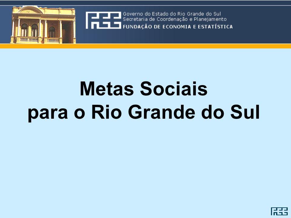 Metas Sociais para o Rio Grande do Sul