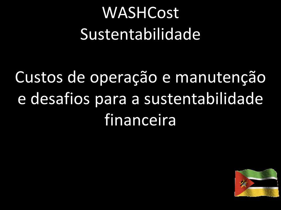 2012.06.01Sustentabilidade financeira 1 WASHCost Sustentabilidade Custos de operação e manutenção e desafios para a sustentabilidade financeira