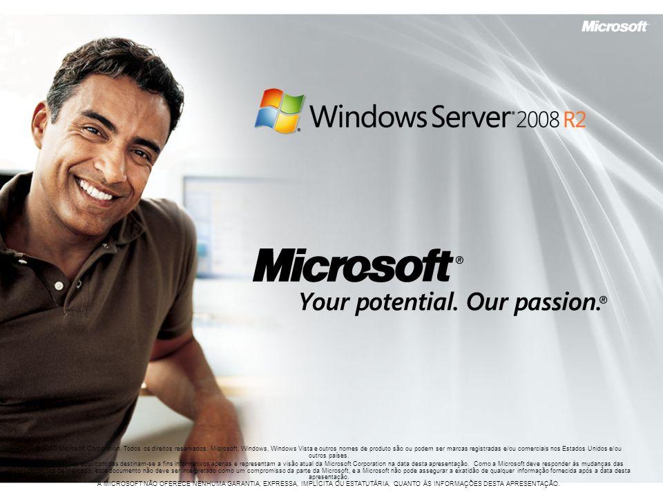 © 2007 Microsoft Corporation. Todos os direitos reservados. Microsoft, Windows, Windows Vista e outros nomes de produto são ou podem ser marcas regist