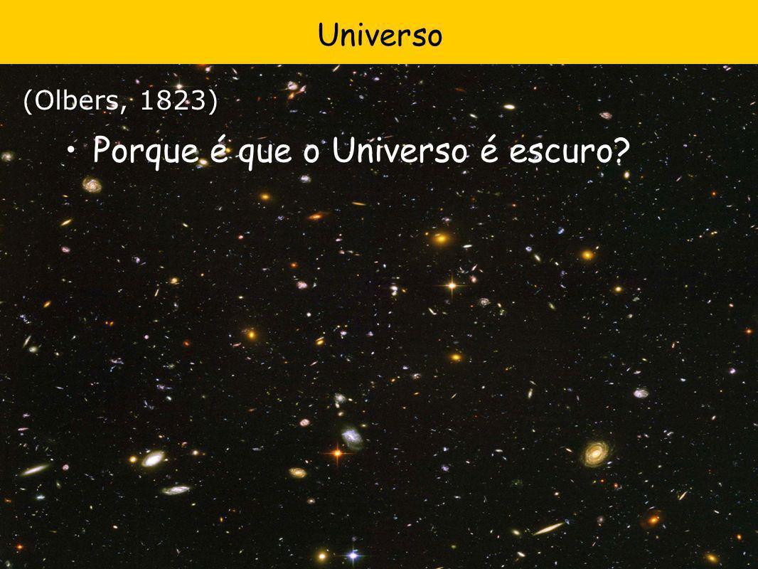 Oops…NÃO está diminuindo.fainter A Expansão do Universo está acelerando.