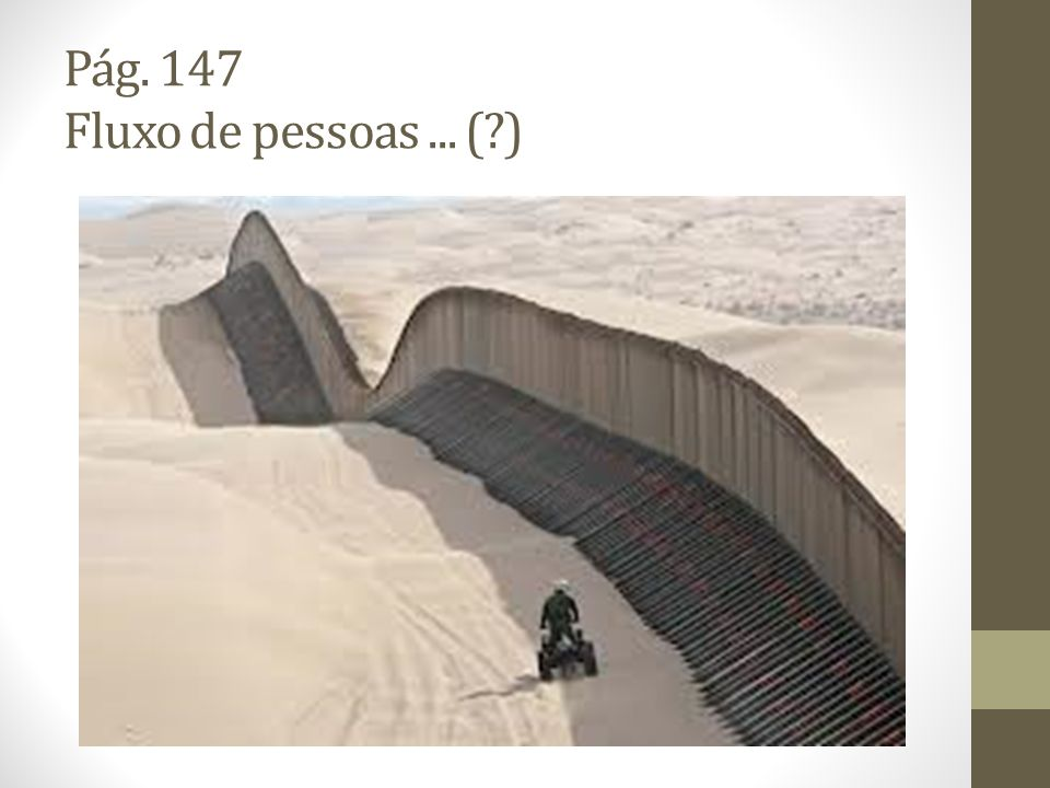 Pág. 147 Fluxo de pessoas... (?)